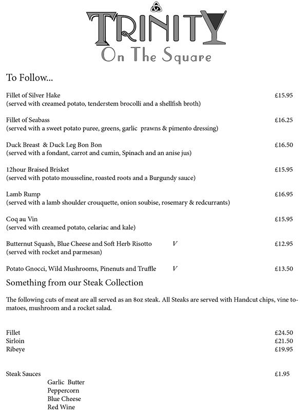 Trinity on the Square Preston Brasserie Restaurant menu-2